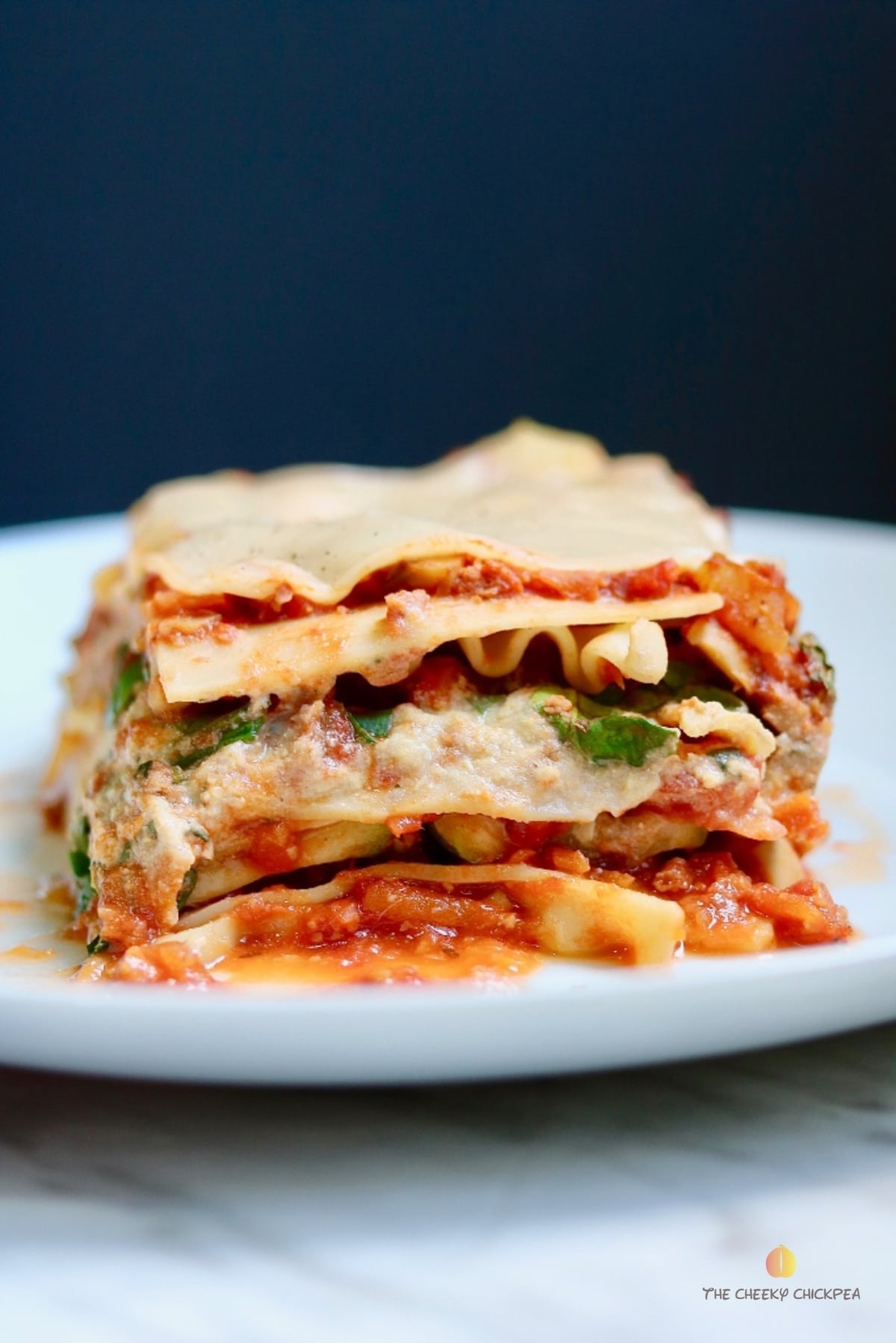vegan ricotta cheese in lasagna