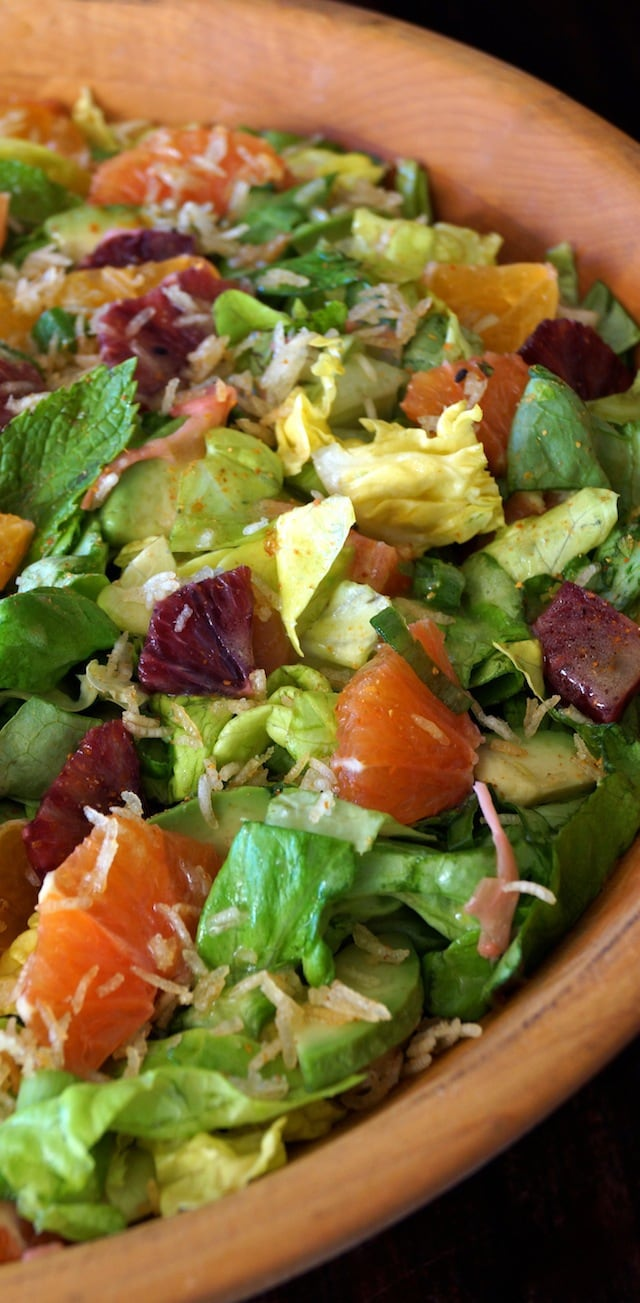 40 delicious & healthy vegan salad recipes picture of citrus avocado salad for recipe roundup