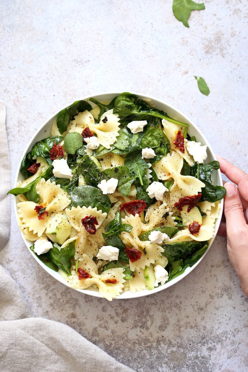 40 delicious & healthy vegan salad recipes picture of pasta salad from recipe roundup