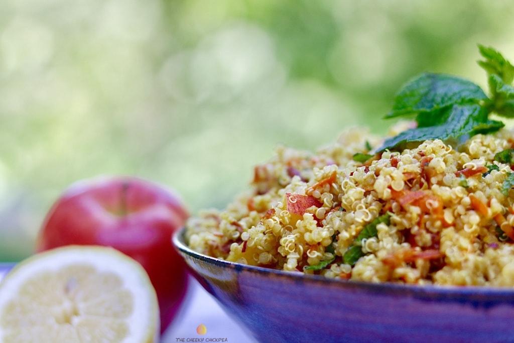 delicious & healthy vegan salad recipes picture of quinoa salad for recipe roundup