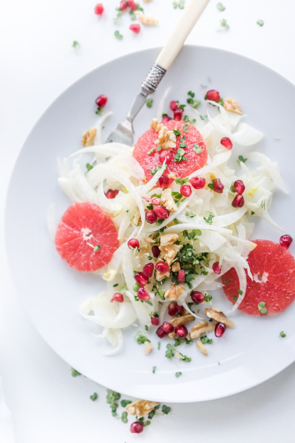 40 delicious & healthy vegan salad recipes picture of fennel salad for recipe roundup