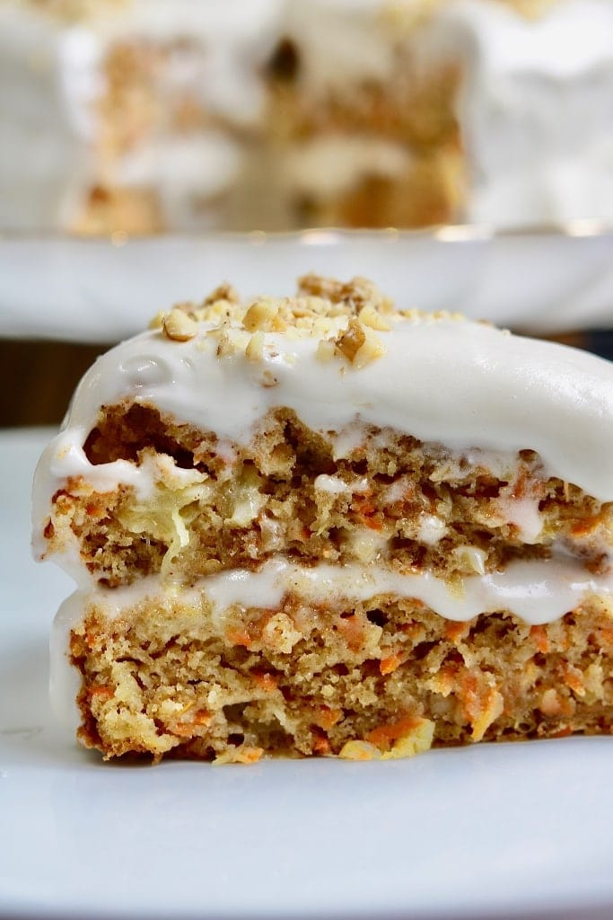The Best Vegan Carrot Cake The Cheeky Chickpea