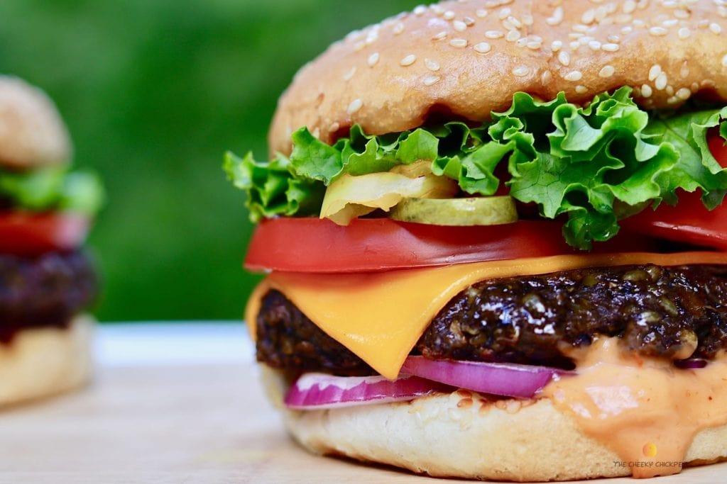 best vegan burger recipe for vegan potluck recipe roundup