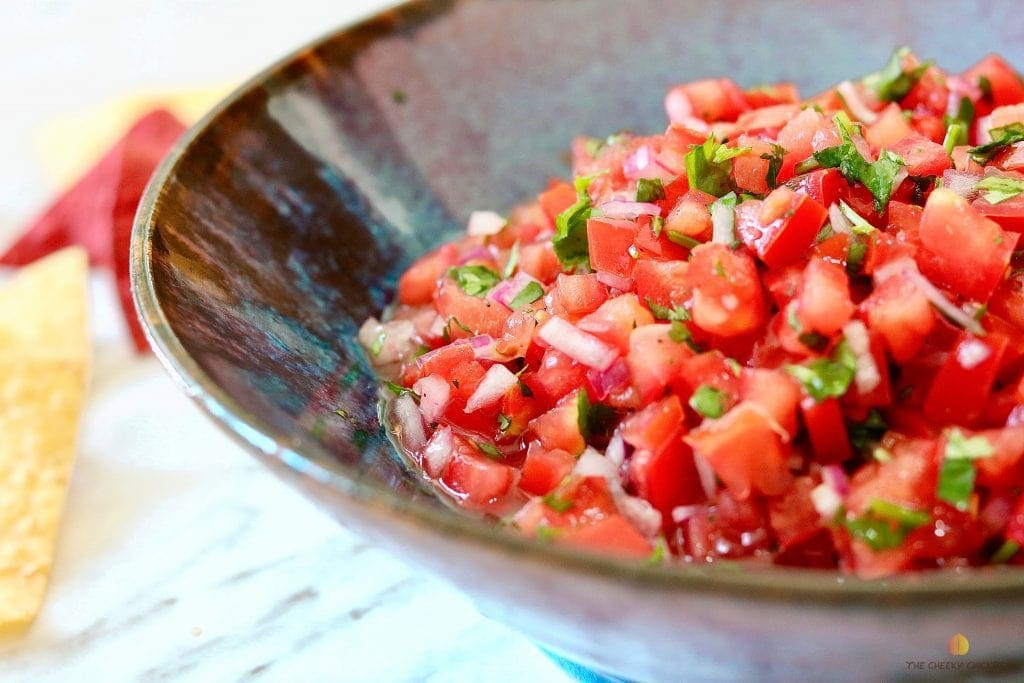 pico de Gallo for vegan potluck recipes
