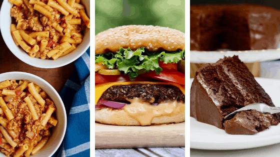 cheeky chickpea recipe pictures hamburger helper vegan burger chocolate cake