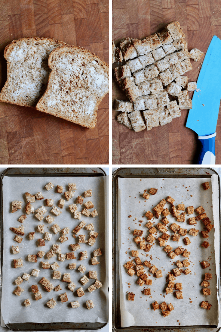 step by step photos how to make croutons