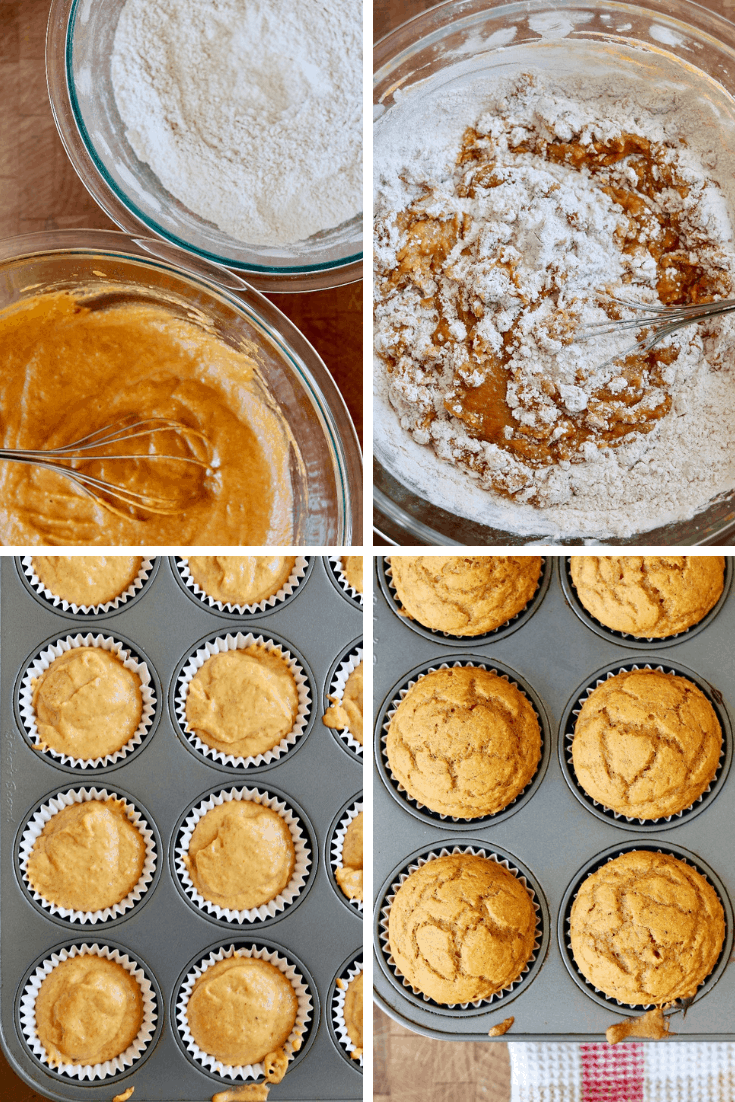 step by step photos how to make vegan pumpkin cupcakes