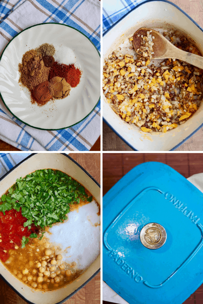 step by step photos how to make moroccan stew