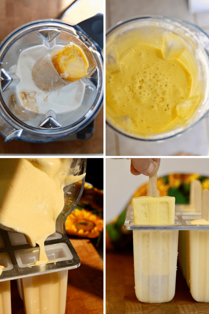 step by step photos how to make homemade creamsicles