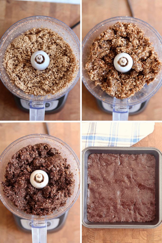 step by step photos how to make raw vegan brownies
