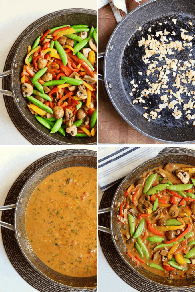 step by step photos how to make thai red curry