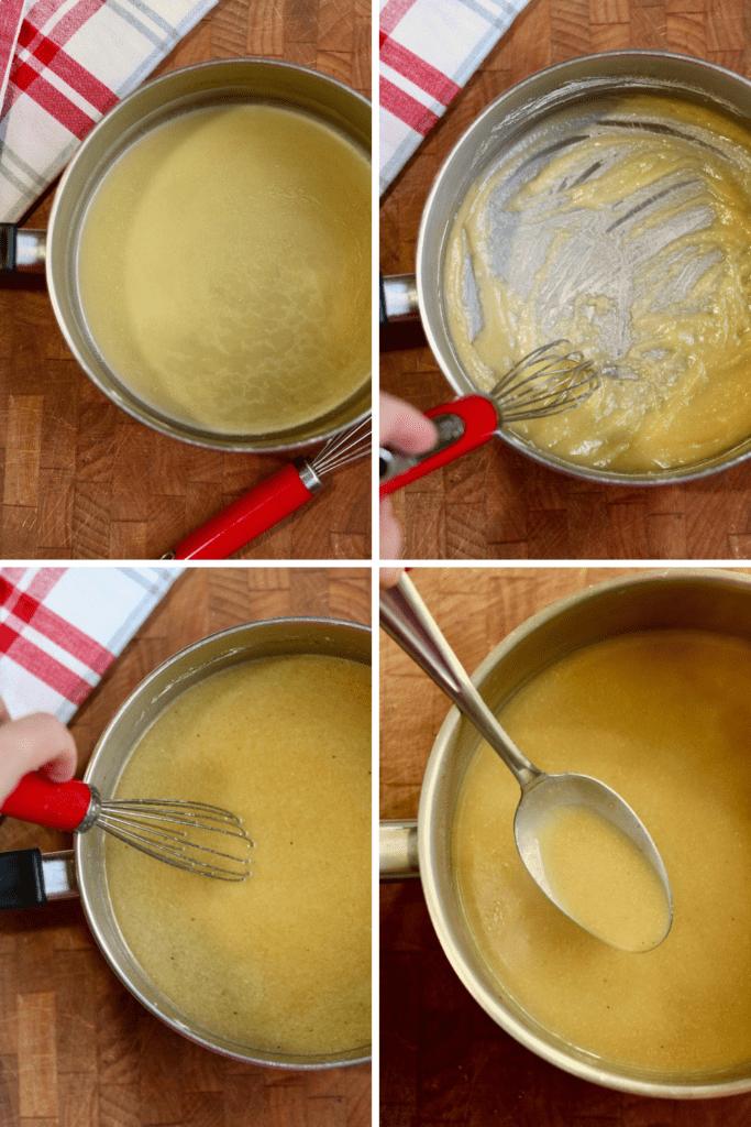step by step photos how to make vegan gravy
