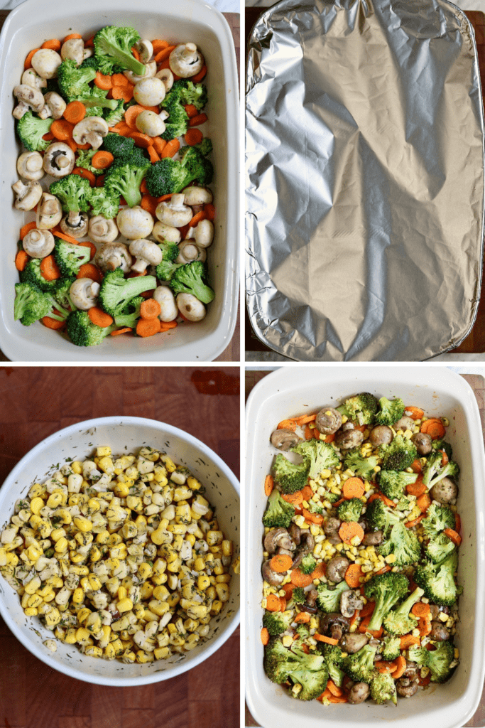 step by step photos how to make roasted vegetables