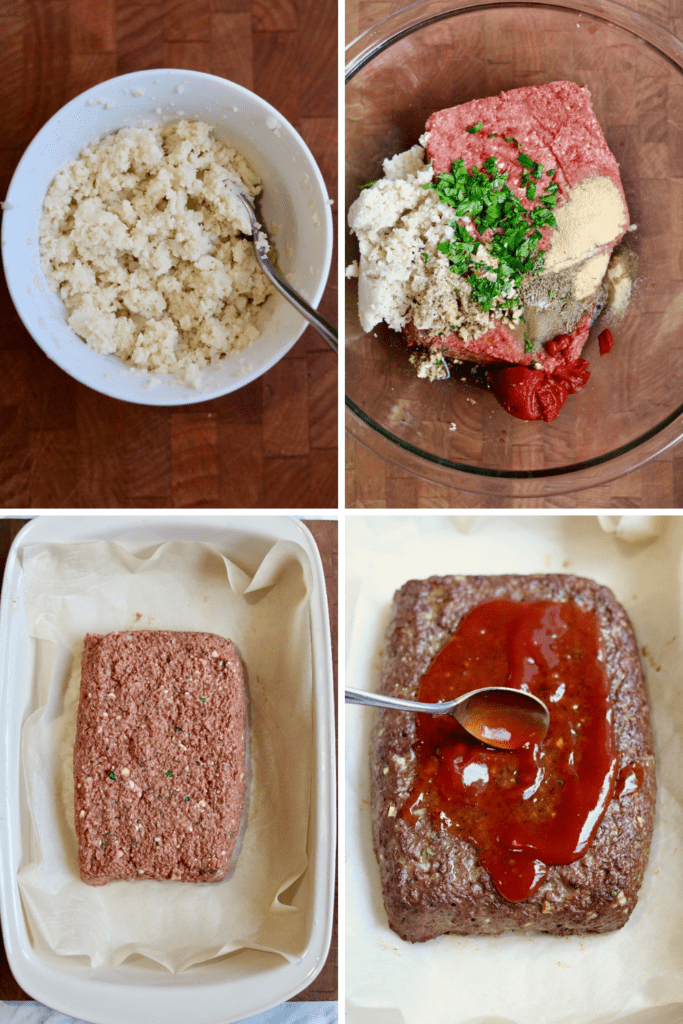 step by step photos how to make vegan meatloaf