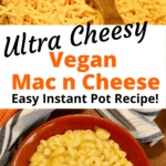 vegan mac and cheese in a bowl