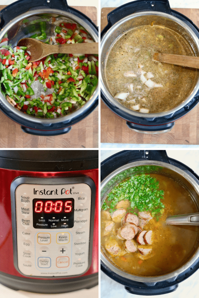 step by step photos how to make jamaican soup
