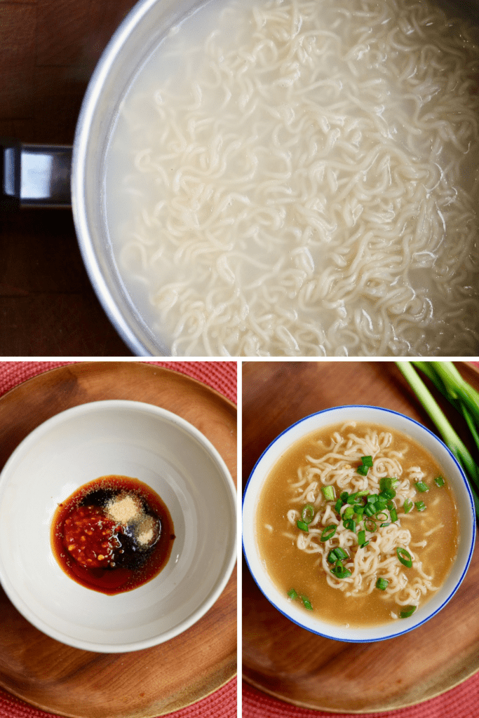 step by step photos how to make vegan ramen soup