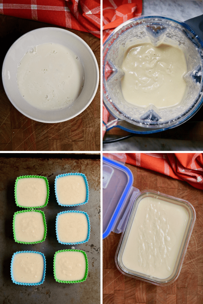 step by step photos how to make vegan butter