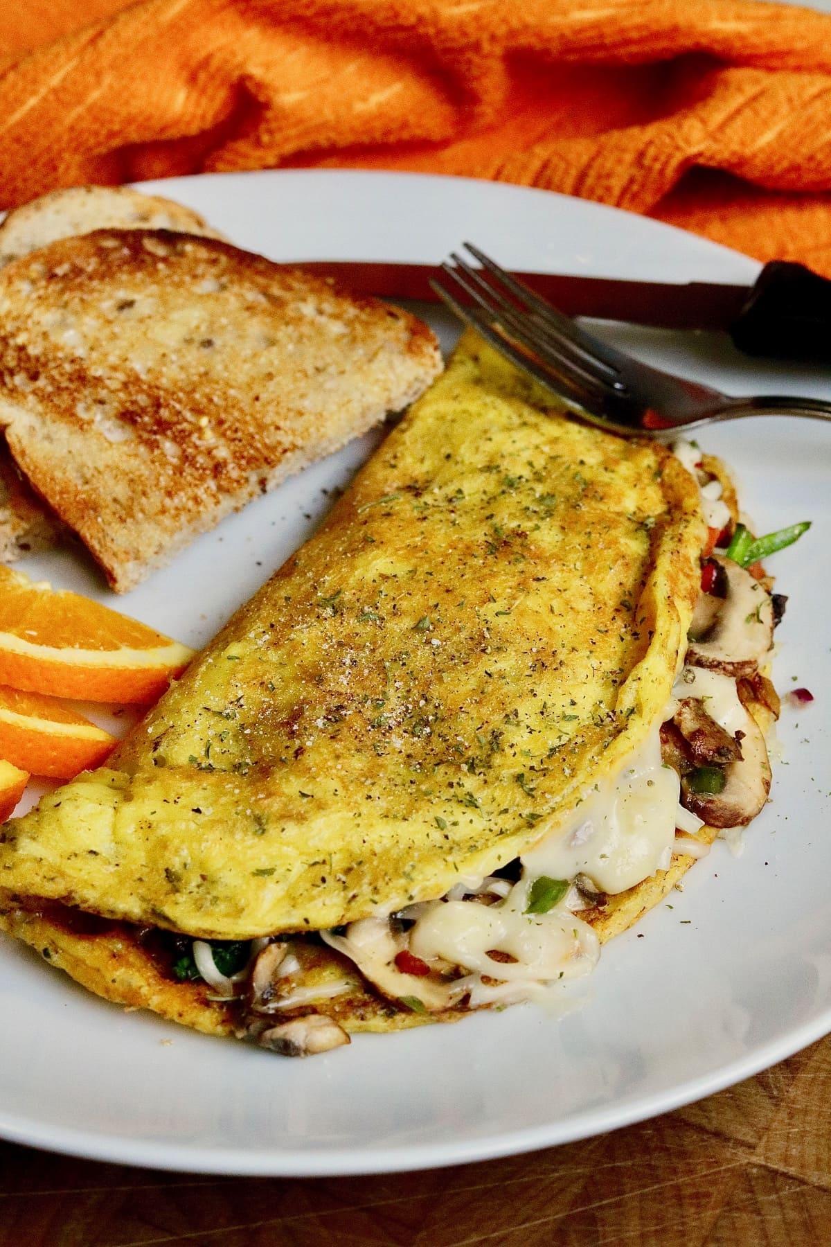 Easy JUST Egg Omelette